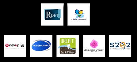logos pôles d'excellence